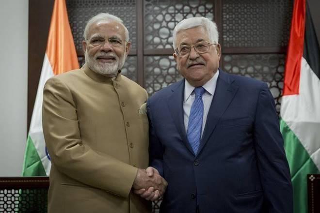 भारत,फिलिस्तीन, नरेंद्र मोदी, भारत, भारत फिलिस्तीन के बीच समझौता