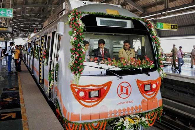 jaipur metro, phase i, jaipur metro expansion,Jaipur Metro Rail Corporation, phase ii