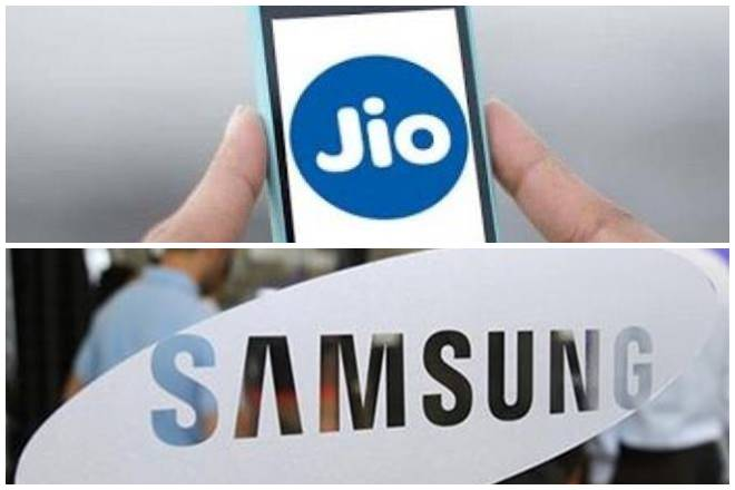 Image result for jio samsung