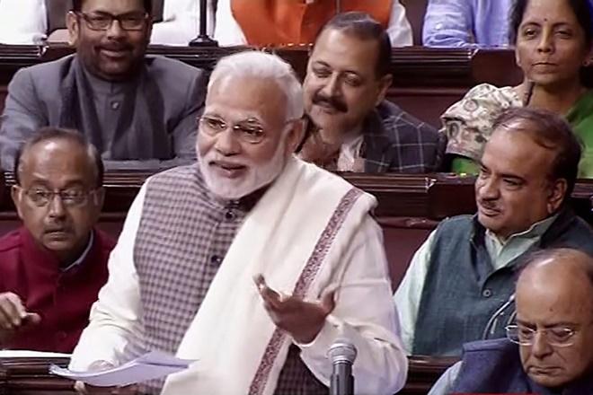 narendra modi rajya sabha speech