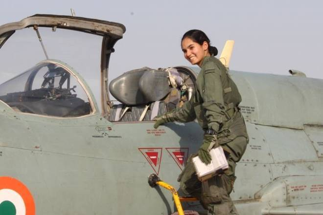 First Indian woman fighter pilot to fly solo