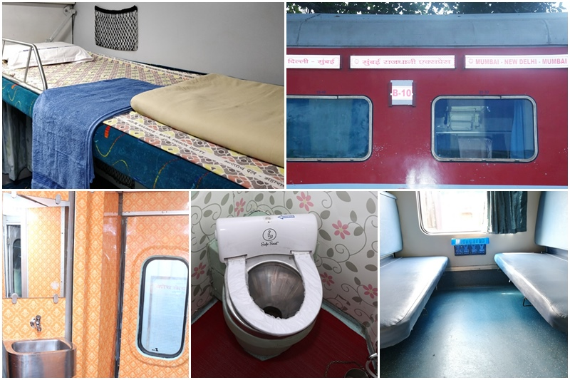 Mumbai-Delhi Rajdhani Express has been revamped under Operation Swarn