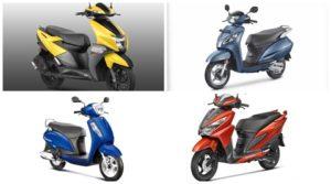 TVS Ntorq 125 vs Honda Activa 125 vs Suzuki Access 125 vs Honda Grazia: Price, features, engine specification comparison - The Financial Express
