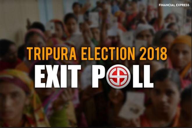 Tripura election 2018 exit polls