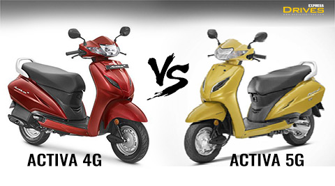 What is the Difference between Honda Activa 5G and Activa 4G