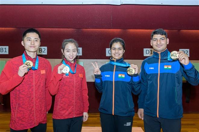 manu bhaker, who is manu bhaker, manu bhaker world cup, manu bhaker shooter, manu bhaker shooting world cup, issf manu bhaker, manu bhaker gold medal, manu bhaker gold, manu bhaker profile, manu bhaker facts
