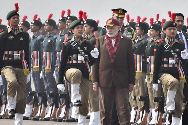 The National Cadet Corps is set to collect the email IDs and mobile numbers of its 13 lakh cadets for an interactive session with the Prime Minister Narendra Modi. (PTI)