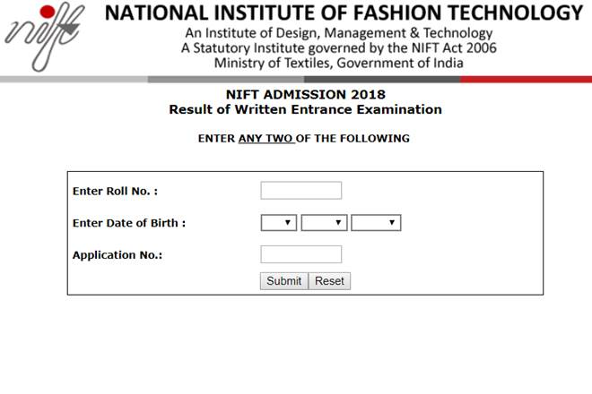 NIFT result 2018, nift.ac.in, nift entrance exam result, nift result, nift result 2018 date, National Institute of Fashion Technology, nift 2018, nift delhi, nift admission, nift result 2018 date, education news