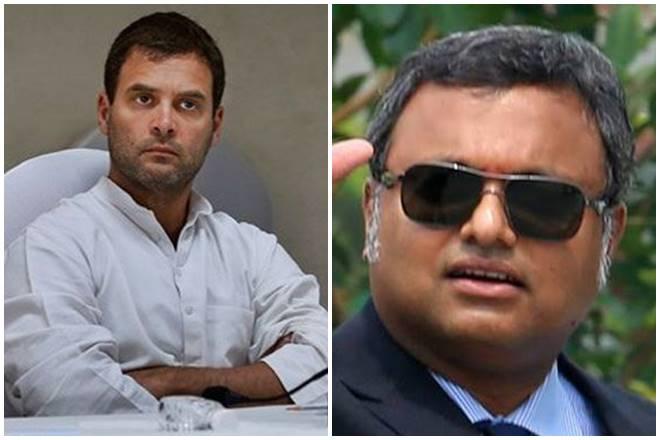 karti chidamabaram, inx media case, kati chidambaram arrest, arrest of karti chidambaram, rahul gandhi, congress, bjp, bharatiya janata party, lok sabha election 2018