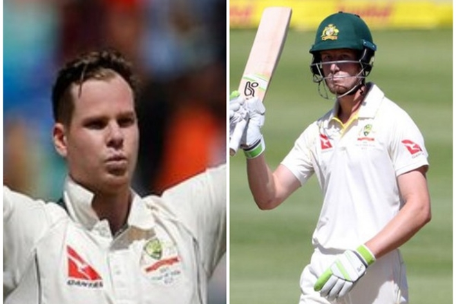 Cape Town Test,Steve Smith, Cameron Bancroft,ball-tampering,South Africa,Darren Lehmann,Peter Handscomb