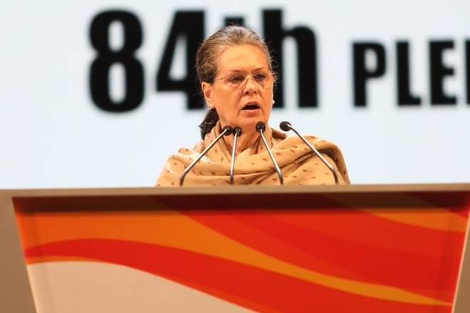 Sonia Gandhi,Congress plenary session, Congress,UPA, narendra modi,PM Narendra Modi