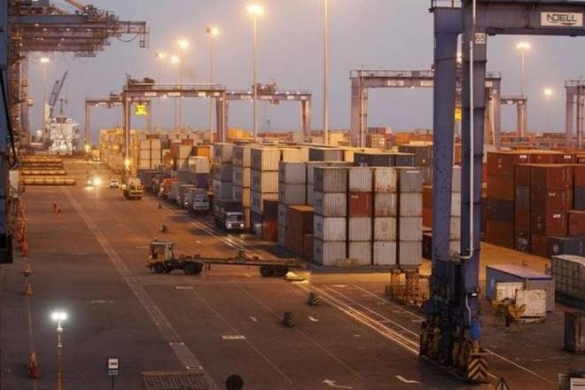 Adani Ports SEZ,Mundra port,Private Freight terminals,Railway transportation,PSA terminal,EBITDA