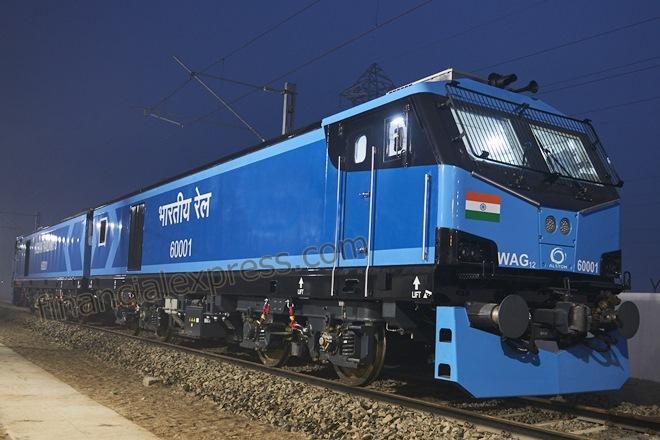 Indian Railways gets new electric locomotive from Alstom
