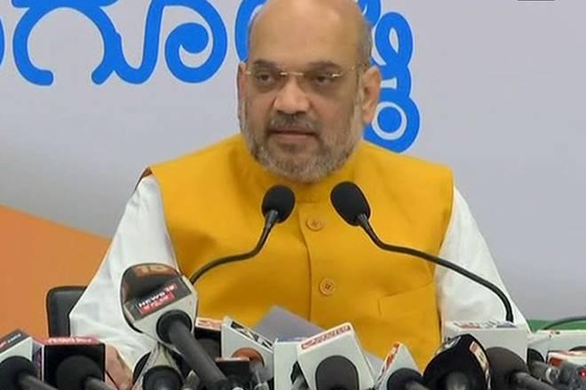 BJP, BJP chief Amit Shah, Karnataka, Amit Shah in Karnataka, minority status, Lingayat
