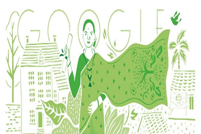 Google doodle,Anandi Gopal Joshi, first lady doctor, india first lady doctor, first woman doctor,Kashmira Sarode, google
