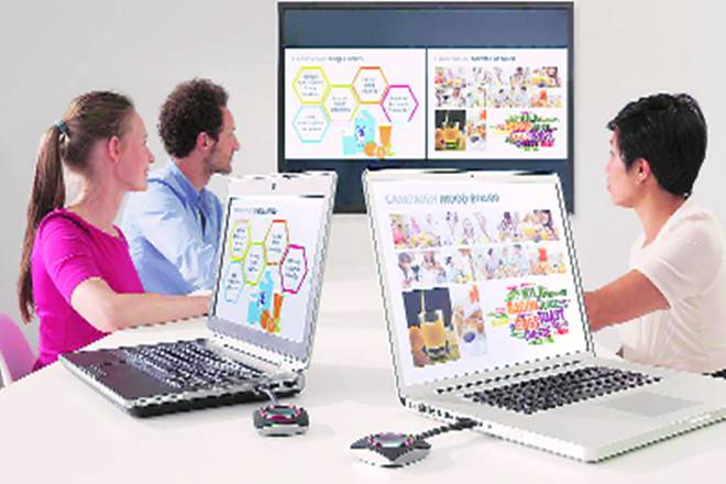 clickshare, barco clickshare, boardrooms, board meetings, presentation software, new technology, barco India