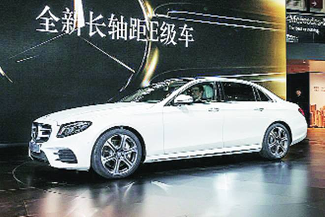 Chinese E Class, Mercedes sales in India, india, mercedes