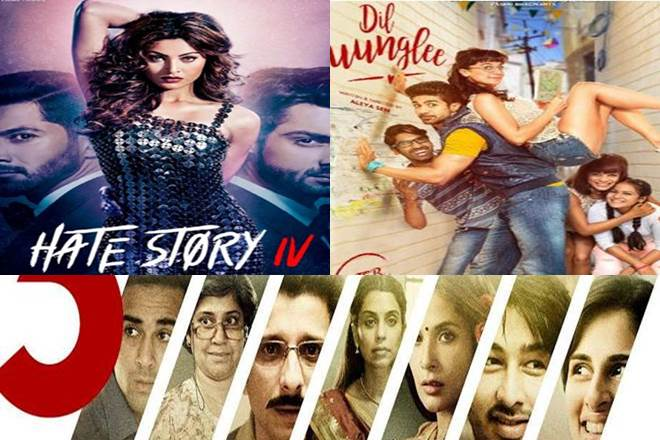 hate story 4 box office collection, Dil Junglee box office collection, 3 Storey box office collection, hate story 4 box office collection prediction, Dil Junglee box office collection prediction, 3 Storey box office collection prediction, hate story 4, Dil Junglee, 3 Storey