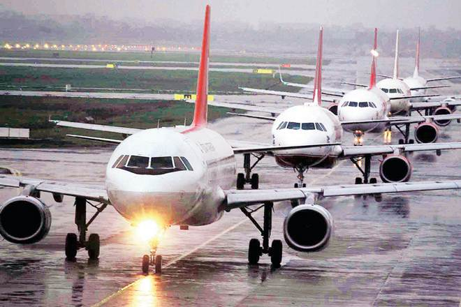 Domestic air passenger traffic,Domestic air passenger traffic growth,Indigo,PAX,GoAir ,axsgrowth