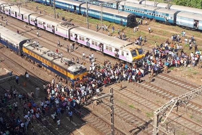 India, Indian Railways, Rail transport, student rail roko protest, rail roko protest in mumbai, rail roko andolan in mumbai