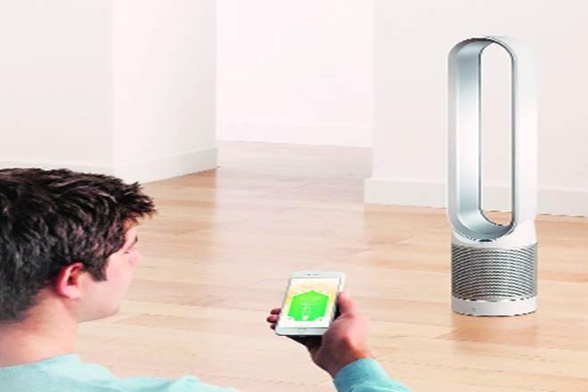 Dyson Pure Cool Link Tower Air Purifier , air purifier, dyson