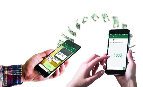 whats app, digital payments