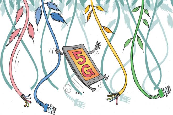 5G network, 4 g network,OFC network,Mobile data traffic,4G LTE,Quality of Experience, wireless technology