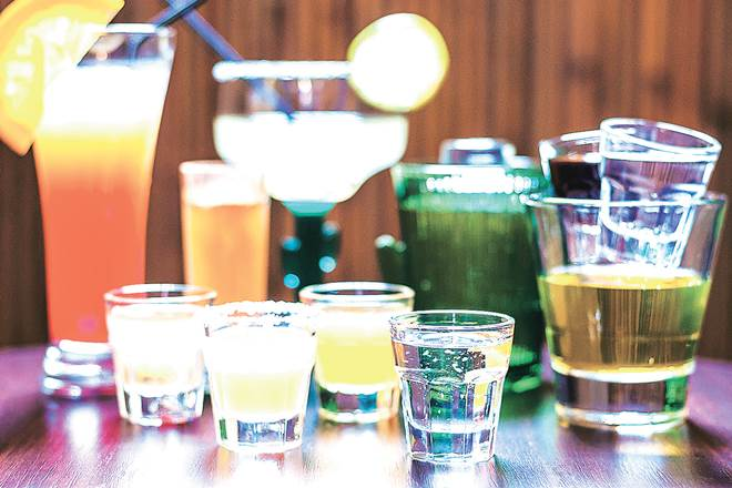 gulab jamun cocktail, hotel shangri la, india