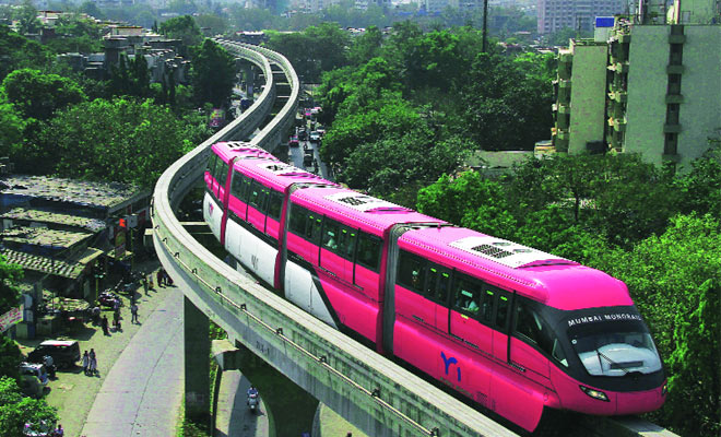 Mumbai monorail,IL&FS Rail,RInfra,MMRDA,