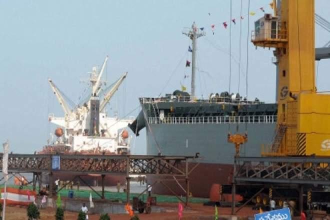 Krishnapatnam Port Company,Hyderabad,Nellore district,Andhra Pradesh,CVR group,largest waterfront area