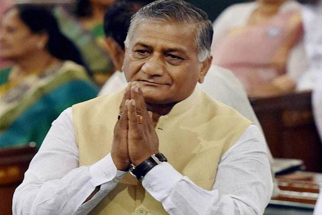 VK Singh, Islamic State, ISIS, Iraq