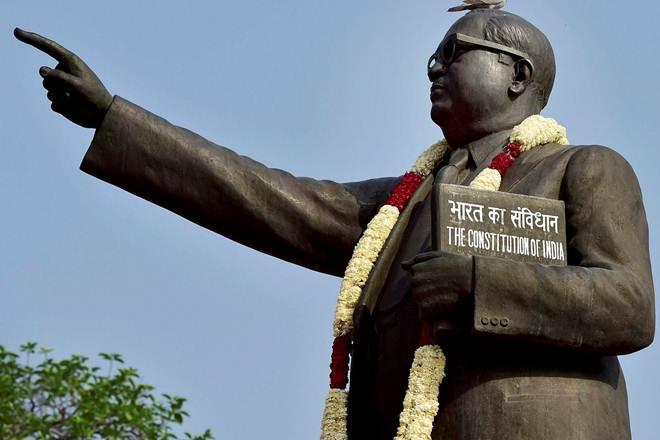 Baba Saheb Ambedkar,Baba Saheb Ambedkar statue, bjp government,Budaun village,Yogi Adityanath,Budaun village