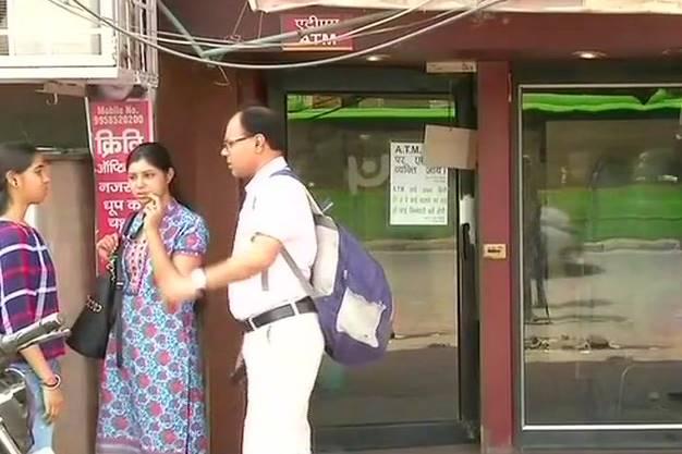 cash crisis delhi