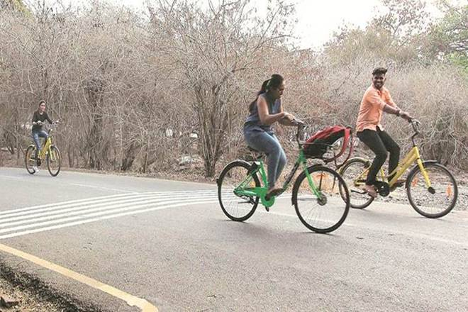 Pune, cycling, sustainability, Smart City Project