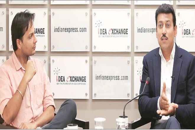 Rajyavardhan Singh Rathore, narendra modi, sports, sports federation, idea exchange