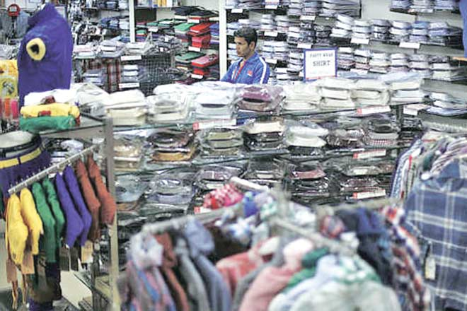 garments output, exports, garment sector