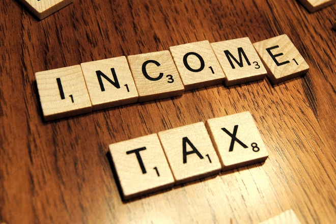 income tax, husband and wife, joint property