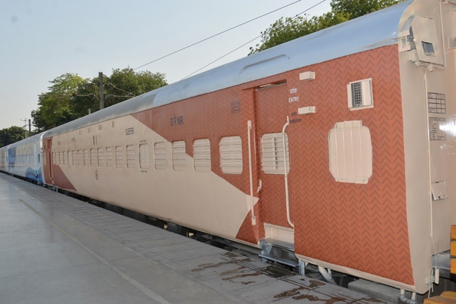 Indian Railways is introducing new colour scheme for sleeper coaches