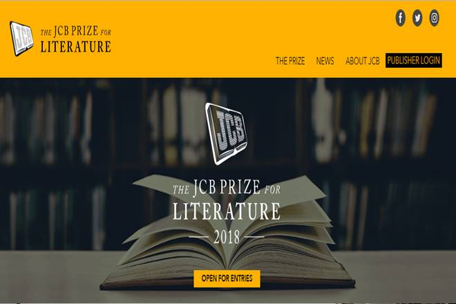 JCB, JCB literary prize, indian literary prize
