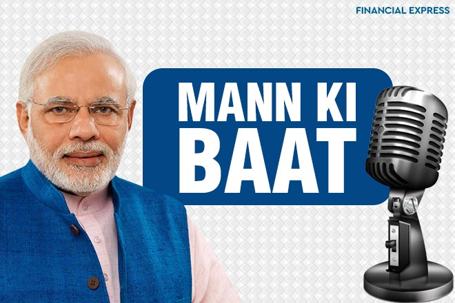 This will be the 43rd edition of the Mann Ki Baat programme, which will broadcast on All India Radio (AIR), Doordarshan and also on the Narendra Modi mobile application.