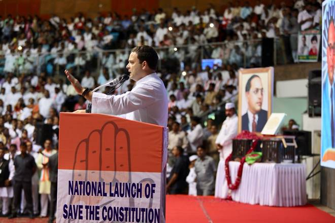 rahul gandhi save the constitution