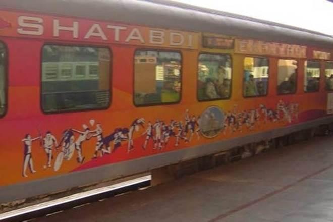 bus services, shatabdi, indian railways, shatabdi routes