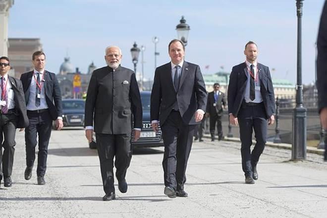 Narendra Modi Sweden visit,Stefan Lofven,Stockholm, news onNarendra Modi Sweden visit,CHOGM, UK,Raveesh Kumar