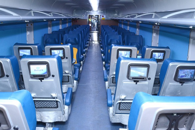 SMART coaches are being manufactured by Indian Railways