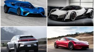Top 5 fastest electric cars in the world: One makes 1888 hp, does 0-100 km/h in an eye-popping 1.8 seconds! - The Financial Express