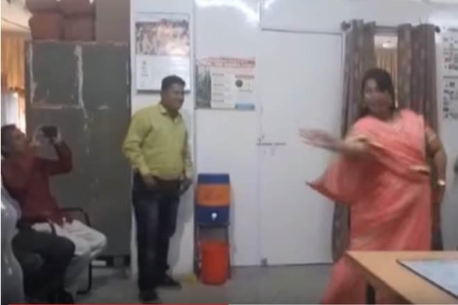 government employee suspended for dancing,Madhya Pradesh,Dewas,Ashish Singh,Diwakar Rojaskar