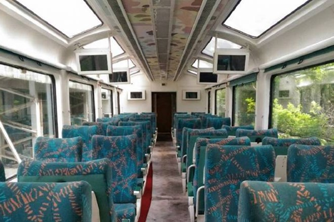 Kashmir to have Indian Railways glass ceiling vistadome coaches