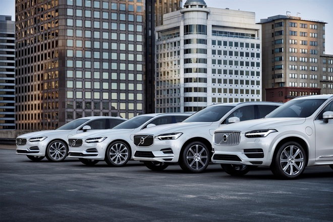 Volvo Cars has announced that it aims for fully electric cars to make up 50% of its sales by 2025.
