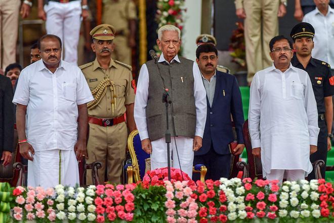 Karnataka Assembly, Karnataka floor test, Kumaraswamy, Kumaraswamy trust vote, Congress, Janata Dal Secular, Indian National Congress, BJP, BS Yeddyurappa, Karnataka government, Chief Minister Kumaraswamy