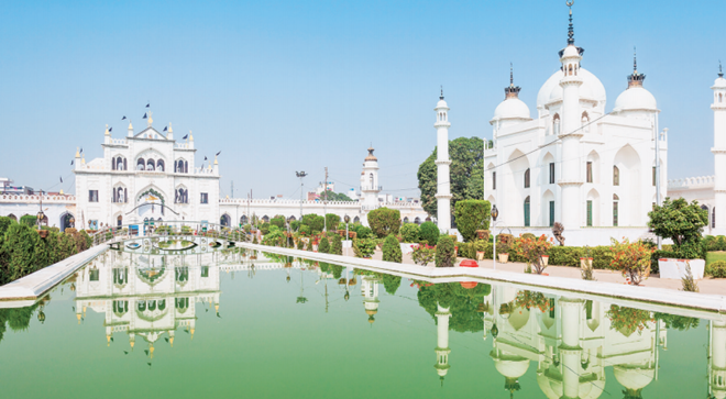 The Chota Imambara in Lucknow